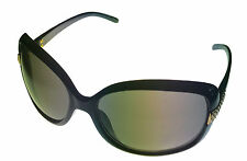 Esprit Sunglass ET19261 538 Black Plastic Fashion Rectangle, Gradient Lens