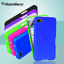 Matt Gel Case For BlackBerry Z10 BBZ10 + Screen film TPU Rubber Skin Soft Cover
