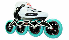 Inline Speed Skate by Trurev. 110mm skate wheels, ceramic bearings