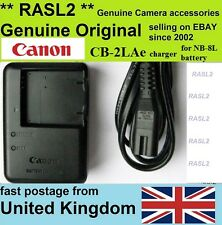 Genuine Canon CB-2LAe Charger For NB-8L PowerShot A3000 A3100 A3200 A3300 A3350