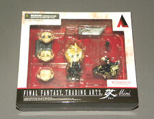 "Final Fantasy Trading Arts Mini Cloud Strife Square Enix Figure 3"" w Motorcycle"