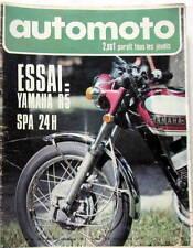 1971 AUTOMOTO JOURNAL SIMCA 1100 S YAMAHA 125 AS3 YR5 F2 24 FRANCORCHAMPS IMOLA