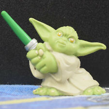 Star Wars Galactic Heroes Yoda Loose 2004 Two Hand Lightsaber