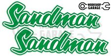 Holden HQ - HJ -  SANDMAN GREEN  XX Large Decal  - Stickers