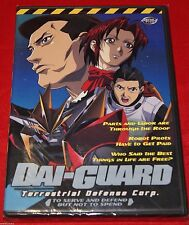 Dai-Guard - Vol. 2: To Serve  Defend (DVD, 2002) Action Giant Robot BRAND NEW