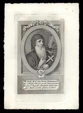 santino incisione 1700/1800 FR.PAOLO DA ASTI