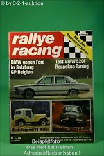 Rallye Racing 6/73 BMW 520i Jeep CJ V8 Ford Escort RS