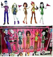 New Monster High Dolls We Are Student Disembody Council 5-Pack set FREE SHIPPING
