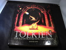Tolkien - the Illustrated Encyclopedia by David Day Hardcover 1991 v good