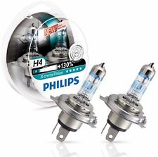 New Philips H4 X-treme Extreme Vision Pair 2 Car Bulbs +130% lamps Free Shipping