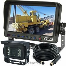 """BACK UP REAR VIEW CCD CAMERA SYSTEM 7""""REVERSE TFT LCD"""