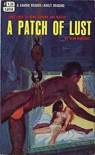 Vintage Sleaze PB Paperback - A Patch of Lust Candid Reader Greenleaf Lesbian