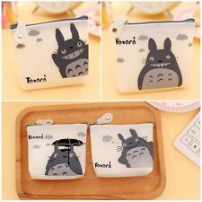 Mini Cute Totoro Practical Coin Pouch Case Jelly Cartoon Purse Key Card Wallet