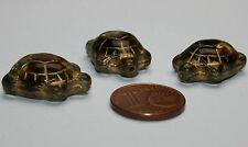 3 x Schildkröten Glasperle / Turtel beads