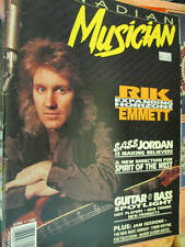 Canadian Musician June 1992 Magazine- Rick Emmett/Sass Jordan/Spirit Of The West