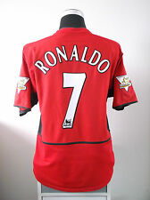 Cristiano RONALDO #7 Manchester United Home Football Shirt Jersey 2003/04 (L)