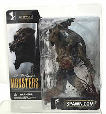 McFarlane Toys MONSTERS Bloody Package~ Scarce~ WEREWOLF with VARIANT Head ~