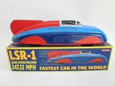 LSR-1 Land Speed Record car Streamline Tin Plate Litho vtg style Repro LARGE 11""