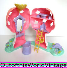 Vintage 80s LADY LOVELY LOCKS TREE HOUSE doll playset 1980s Mattel Toy Girls