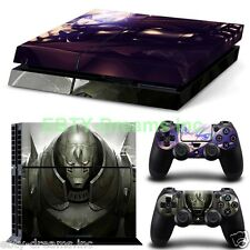 Fullmetal Alchemist Anime Edward Alphonse Elric Skin Sticker Decal Protector PS4
