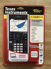 NEW Texas Instruments TI-Nspire CX Color Graphing Calculator + Software PC/Mac