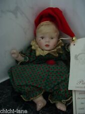 PAULINE BJONNESS-JACOBSEN PORCELAIN CHINA DOLL. LIMITED ED. BABY GREEN JESTER