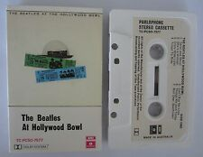 The Beatles At Hollywood Bowl Cassette 1977 Parlophone TC-PCSO-7577 Rock, Pop AU