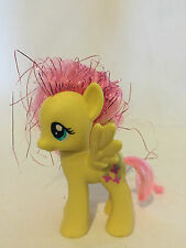 free post RARE MY LITTLE PONY FLUTTERSHY pink tinsel hair G4 FIGURE kids toys