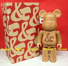 Medicom Be@rbrick 2015 Karimoku Wood House Industries 400% Sync wooden bearbrick
