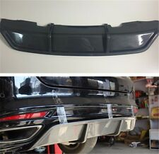 Rear Bumper Lip Dual-Muffler Diffuser Add On Kit For Ford Fusion 2014 2015 2016