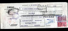"""MAZAMET (81) Constructeur de MACHINES INDUSTRIELLES / BOIS """"SIMBAG"""" en 1950"""