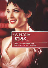 Winona Ryder Star Collection (DVD 2009 4-Disc Set) RARE GREAT BALLS OF FIRE NEW