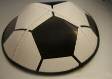 Football suede kippah Jewish Kippot, cupples, Yamaka (Yarmulkes) Ideal gift NEW