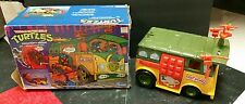 Playmates Teenage Mutant Ninja Turtles Original Party Wagon w/ Box Incomplete
