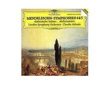 MENDELSSOHN Symphonien 4 & 5 Claudio Abbado LSO