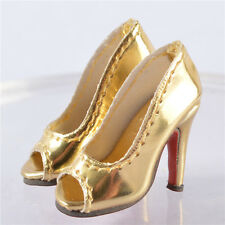"""shoes for 1/6 scale 12"""" Phicen Hot stuff Toys UD female Action Figures 3"""