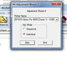 Adjustment Program Epson Stylus Pro 9800