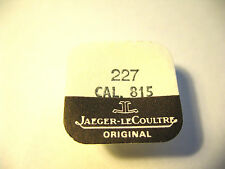 JAEGER LE COULTRE  815 SWEEP SECONDS WHEEL PART 227
