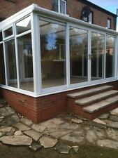 Conservatory - Made To Measure 2.4mx2.4m Lean-to - White upvc **SPRING SALE**