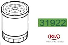 Genuine Kia Sportage 2010-2013 Replacement Fuel Filter Cartridge 319224H001