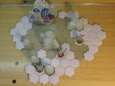 Heroscape - Thaelenk Tundra Snow and Ice Expansion Pack - 100% Complete