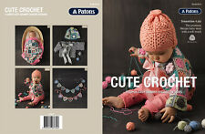 Patons Pattern Book #8014 Cute Crochet 4 Designs to Crochet