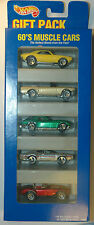 Hot Wheels Gift Pack 60's MUSCLE CARS w '67 Camaro, '65 Mustang, Olds 442, Cobra