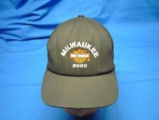 MILWAUKEE MOTOR HARLEY-DAVIDSON CYCLES 2000 Ball Cap