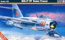 MC MiG-17 PF Radar Fresco DDR NVA Polen Ungarn Soviet Air Force 1:72 Bausatz kit