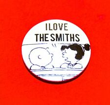 PEANUTS SNOOPY THE SMITHS INSPIRED BUTTON PIN BADGE