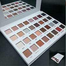 Cosmetic Eyeshadow Makeup Palette Shimmer Set 32 Colors Baked Retro Lasting