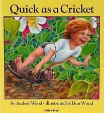 CHILDRENS STORY BOOK QUICK as a CRICKET