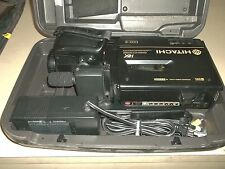 HITACHI S-VHS VM-S8200A CAMCORDER BUNDLE WITH CASE ADAPTER VM-AC65A (U1)