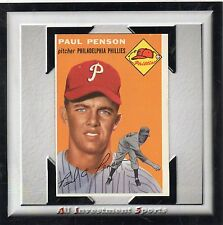 1954 Topps PAUL PENSON #236 NM *beautiful card for your set* M23b